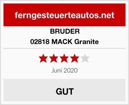 Bruder 02818 MACK Granite Test