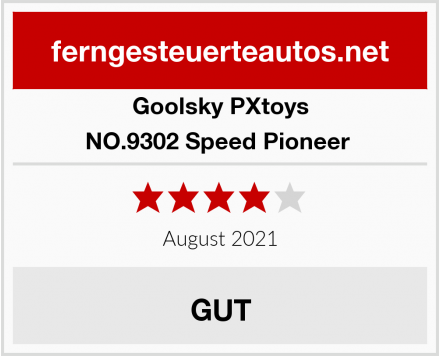 Goolsky PXtoys NO.9302 Speed Pioneer  Test