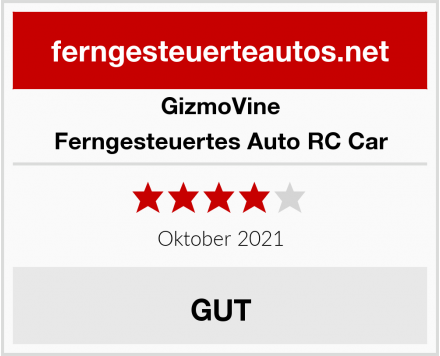 GizmoVine Ferngesteuertes Auto RC Car Test