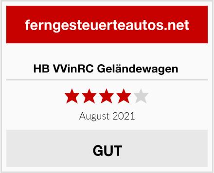 HB VVinRC Geländewagen  Test