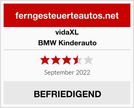 vidaXL BMW Kinderauto Test