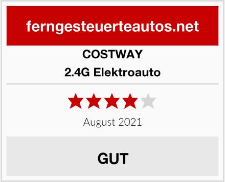COSTWAY 2.4G Elektroauto Test