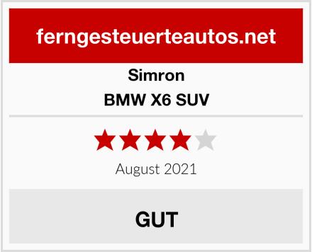 Simron BMW X6 SUV Test
