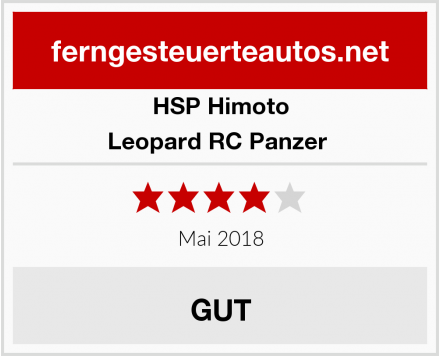 HSP Himoto Leopard RC Panzer  Test