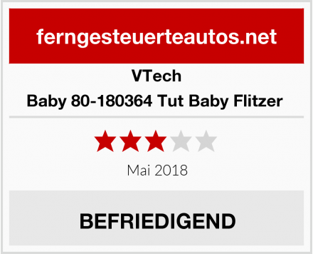 VTech Baby 80-180364 Tut Baby Flitzer  Test