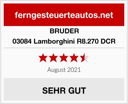 Bruder 03084 Lamborghini R8.270 DCR Test