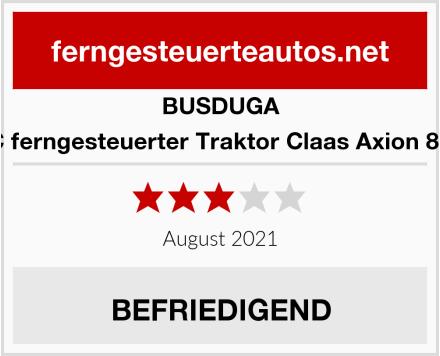 BUSDUGA RC ferngesteuerter Traktor Claas Axion 850  Test