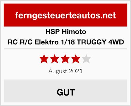 HSP Himoto RC R/C Elektro 1/18 TRUGGY 4WD Test