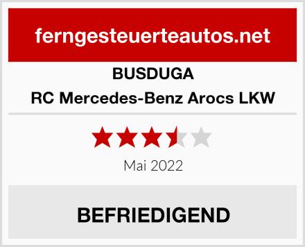 BUSDUGA RC Mercedes-Benz Arocs LKW Test