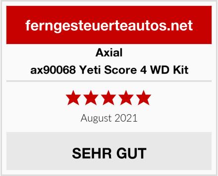 Axial ax90068 Yeti Score 4 WD Kit Test