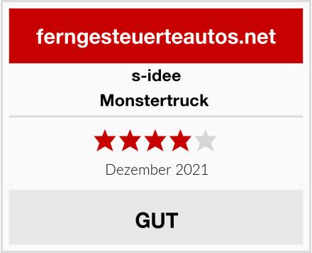 s-idee Monstertruck  Test