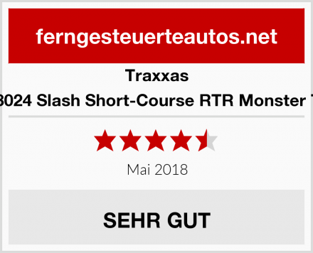 Traxxas TRX58024 Slash Short-Course RTR Monster Truck  Test