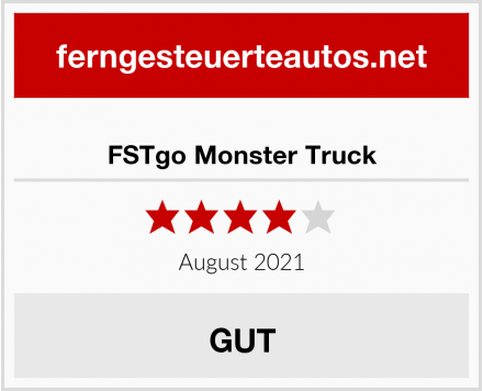 FSTgo Monster Truck Test