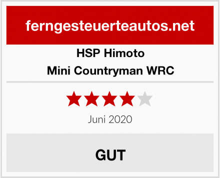 HSP Himoto Mini Countryman WRC Test