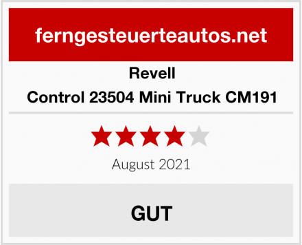 Revell Control 23504 Mini Truck CM191 Test