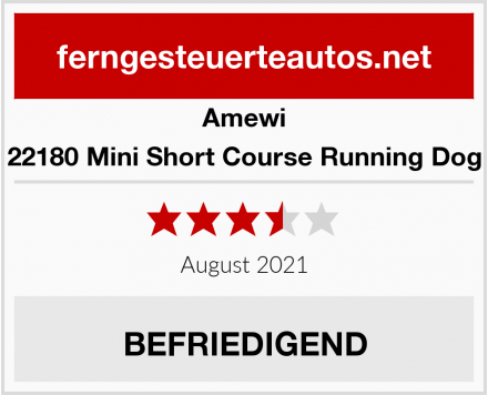 Amewi 22180 Mini Short Course Running Dog Test