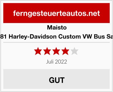 Maisto 581681 Harley-Davidson Custom VW Bus Samba Test