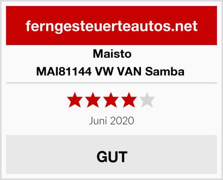 Maisto MAI81144 VW VAN Samba  Test