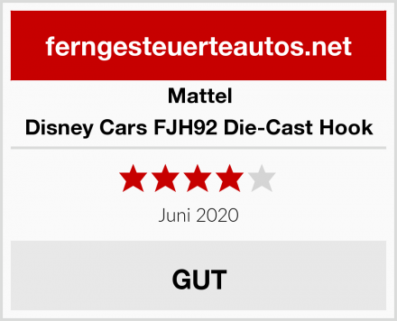 Mattel Disney Cars FJH92 Die-Cast Hook Test