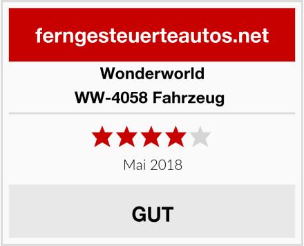 Wonderworld WW-4058 Fahrzeug  Test