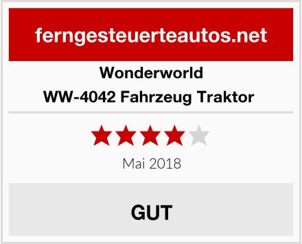 Wonderworld WW-4042 Fahrzeug Traktor  Test
