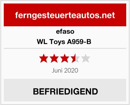 efaso WL Toys A959-B  Test