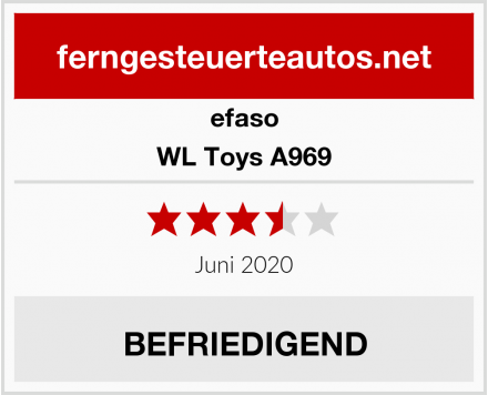 efaso WL Toys A969 Test