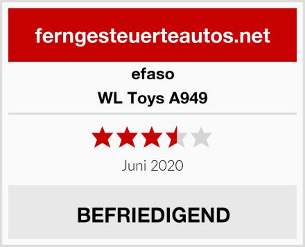 efaso WL Toys A949 Test