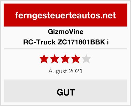 GizmoVine RC-Truck ZC171801BBK i Test