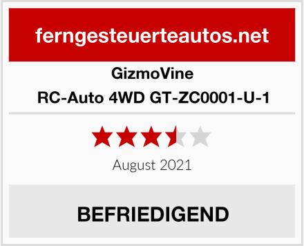 GizmoVine RC-Auto 4WD GT-ZC0001-U-1 Test