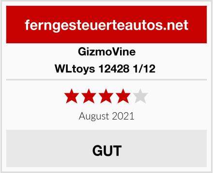 GizmoVine WLtoys 12428 1/12  Test
