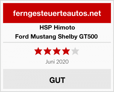 HSP Himoto Ford Mustang Shelby GT500  Test