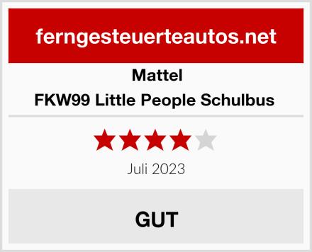 Mattel FKW99 Little People Schulbus  Test