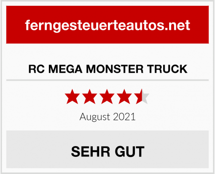 RC MEGA MONSTER TRUCK Test