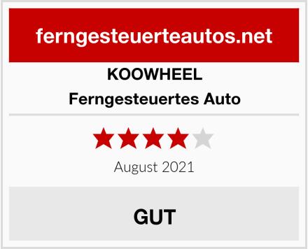 KOOWHEEL Ferngesteuertes Auto Test