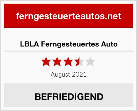LBLA Ferngesteuertes Auto Test