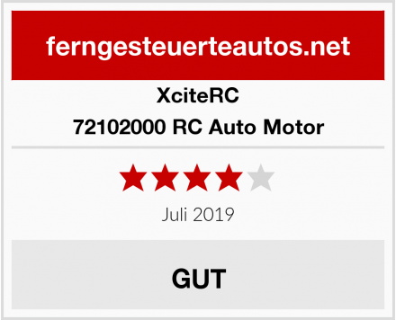 XciteRC 72102000 RC Auto Motor Test