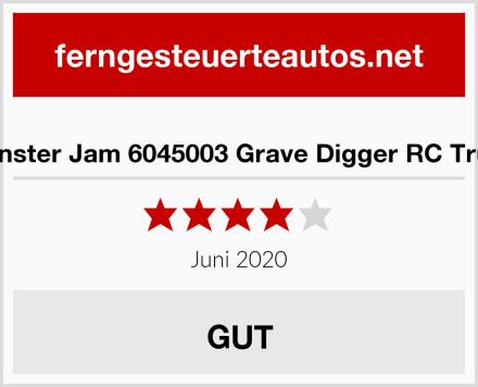 Monster Jam 6045003 Grave Digger RC Truck Test