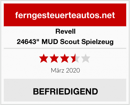 """Revell 24643"""" MUD Scout Spielzeug Test"""