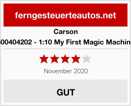 Carson 500404202 - 1:10 My First Magic Machine Test