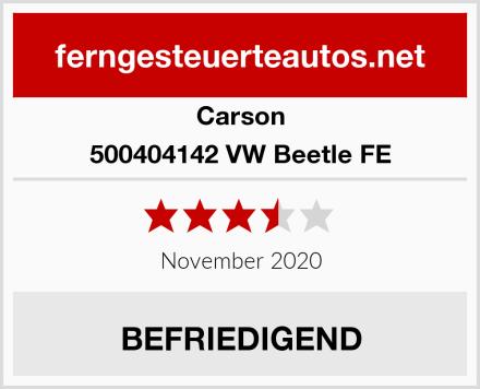 Carson 500404142 VW Beetle FE Test