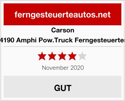 Carson 500404190 Amphi Pow.Truck Ferngesteuertes Auto Test