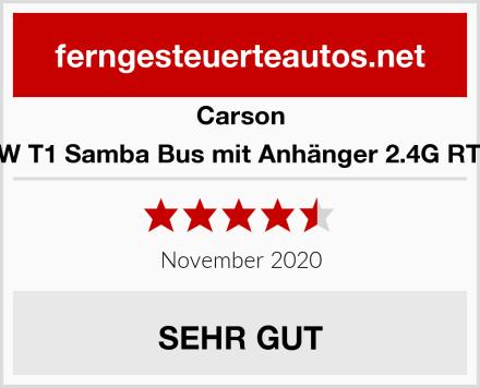 Carson VW T1 Samba Bus mit Anhänger 2.4G RTR Test