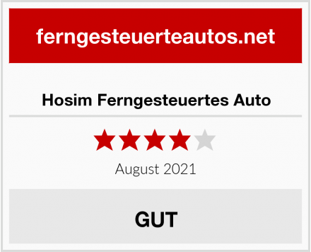 Hosim Ferngesteuertes Auto Test