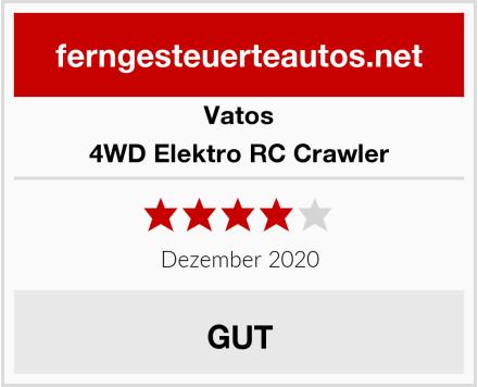 VATOS 4WD Elektro RC Crawler Test