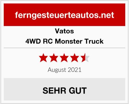VATOS 4WD RC Monster Truck Test