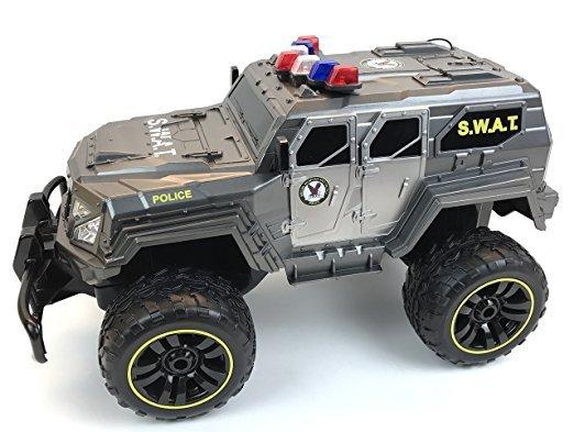 BUSDUGA 2486 RC Monstertruck Polizei SWAT