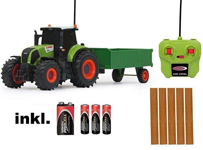 BUSDUGA Traktor Claas Axion 850 mit Anhänger