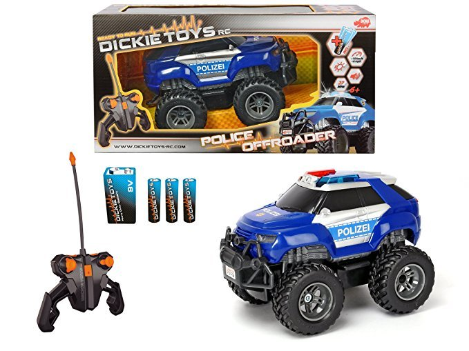 Dickie Toys 201119056 RC Police Offroader