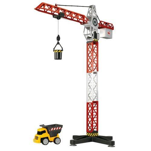 Dickie Toys 203463337 Kranset mit Baustellenfahrzeugen